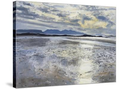 Evening Light, Low Tide, 2013-Charles Simpson-Stretched Canvas Print