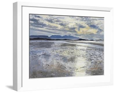 Evening Light, Low Tide, 2013-Charles Simpson-Framed Giclee Print