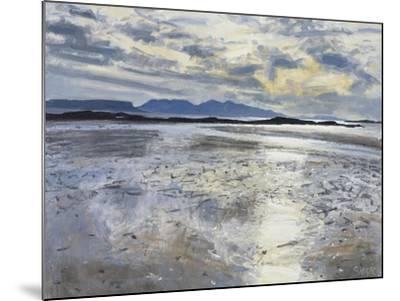 Evening Light, Low Tide, 2013-Charles Simpson-Mounted Giclee Print
