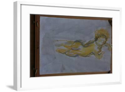 Flying angel-Cosima Duggal-Framed Giclee Print