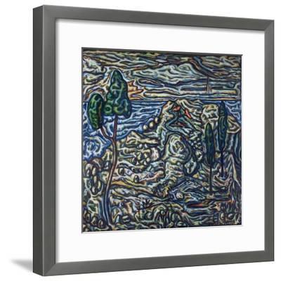 Troubled Landscape, 1994--Framed Giclee Print