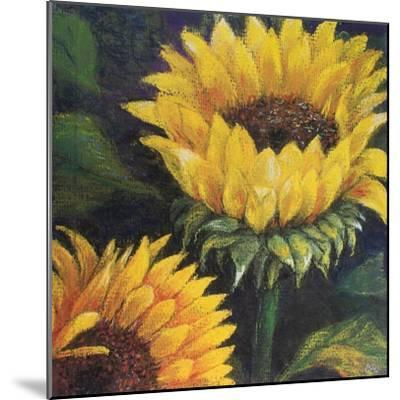 Sunflowers, 2016--Mounted Giclee Print