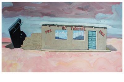 El Bar Tropical-Thomas MacGregor-Framed Giclee Print