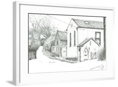 The Old Chapel, BrighstoneIsle of wight, 2008-Vincent Alexander Booth-Framed Giclee Print