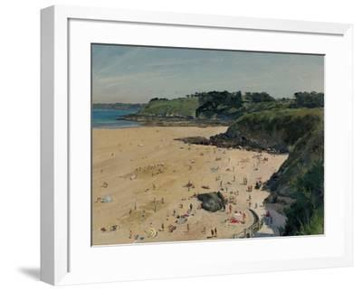 Plage des Cur� Afternoon, 2014-Peter Brown-Framed Giclee Print