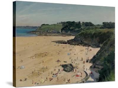 Plage des Cur� Afternoon, 2014-Peter Brown-Stretched Canvas Print