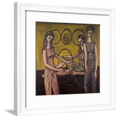Making of Synoptics, 1994--Framed Giclee Print