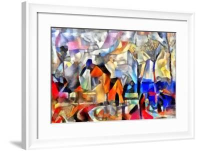 Etude #3,2017-Alex Caminker-Framed Giclee Print