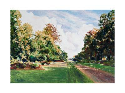 Knole Park, Sevenaoks-Anthony Fandino-Framed Giclee Print