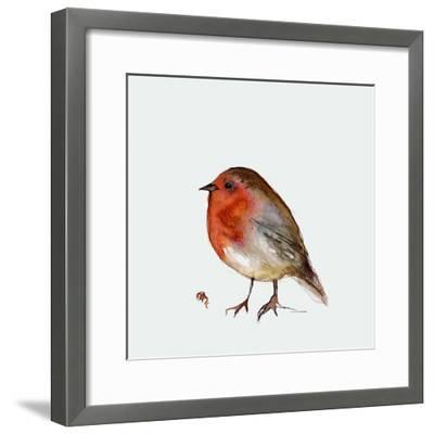 Fat Robin, 2017-Nancy Moniz Charalambous-Framed Giclee Print