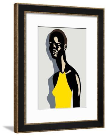 Model, 2017--Framed Giclee Print