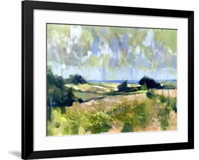 Sutton Downs View, 2007-Clive Metcalfe-Framed Giclee Print