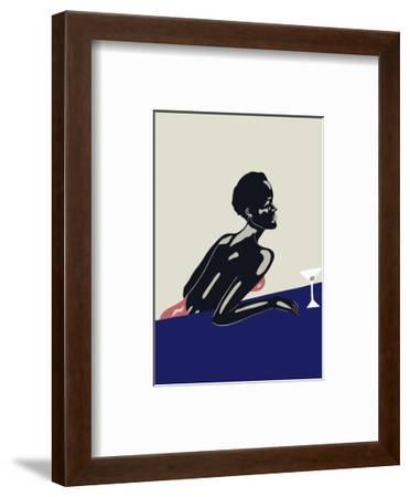 Evening Drink, 2016--Framed Premium Giclee Print