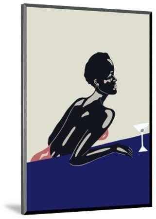 Evening Drink, 2016--Mounted Premium Giclee Print
