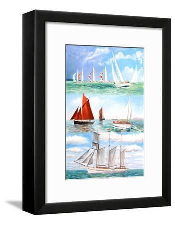 Sailing Yachts, 2006-Alex Williams-Framed Giclee Print