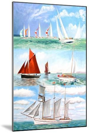 Sailing Yachts, 2006-Alex Williams-Mounted Giclee Print