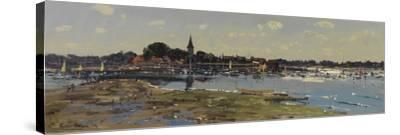 Bosham from Chidham, Sailing Lessons, 2011-Peter Brown-Stretched Canvas Print