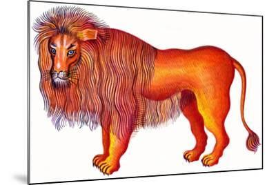 Leo the Lion, 1996-Jane Tattersfield-Mounted Giclee Print