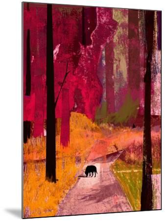 Black Dog, 2013-David McConochie-Mounted Giclee Print