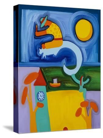 Mr.Guy Fox on his Memorable Day,1997-Cristina Rodriguez-Stretched Canvas Print