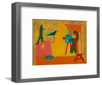 The Official Photograph,1997-Cristina Rodriguez-Framed Giclee Print