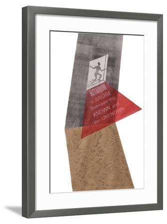 A metaphor is a bridge-Mary Kuper-Framed Giclee Print