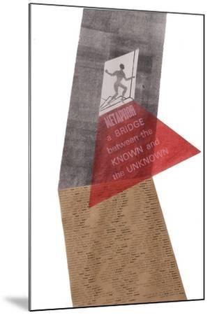 A metaphor is a bridge-Mary Kuper-Mounted Giclee Print