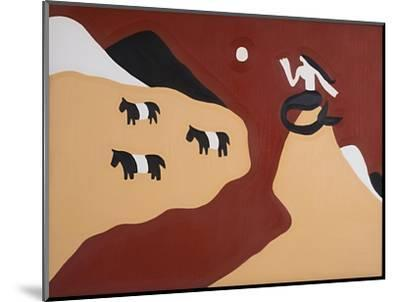 To this Land We Belong, Said the Mermaid and the Belted Galloways,1995,-Cristina Rodriguez-Mounted Giclee Print
