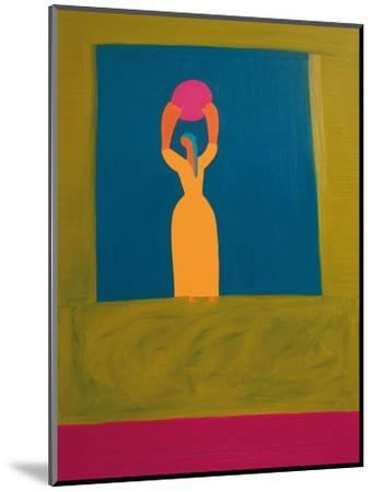 The Owner of the Light,1996-Cristina Rodriguez-Mounted Giclee Print