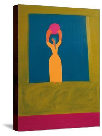 The Owner of the Light,1996-Cristina Rodriguez-Stretched Canvas Print