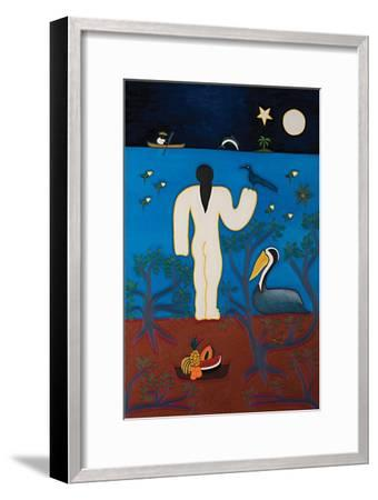 Our own Olympia,2014-Cristina Rodriguez-Framed Giclee Print
