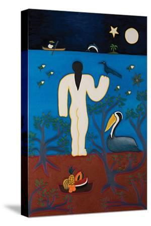 Our own Olympia,2014-Cristina Rodriguez-Stretched Canvas Print