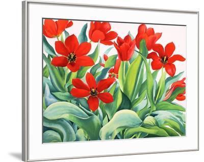 Madame Lefeber Tulips-Christopher Ryland-Framed Giclee Print