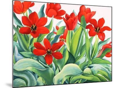 Madame Lefeber Tulips-Christopher Ryland-Mounted Giclee Print