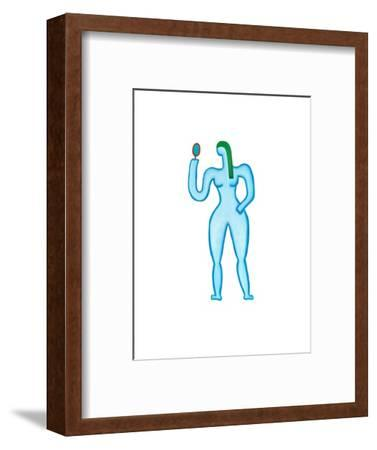 Virgo,2009-Cristina Rodriguez-Framed Giclee Print