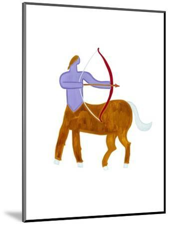 Sagittarius,2009-Cristina Rodriguez-Mounted Giclee Print