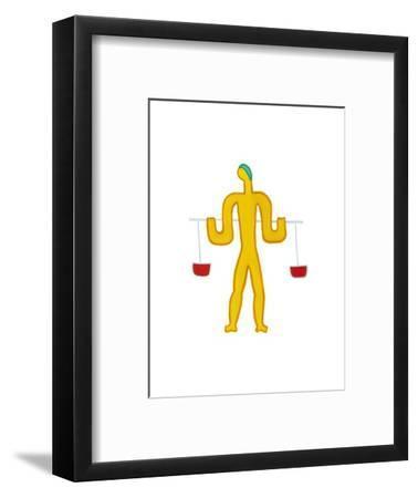 Libra,2009-Cristina Rodriguez-Framed Giclee Print