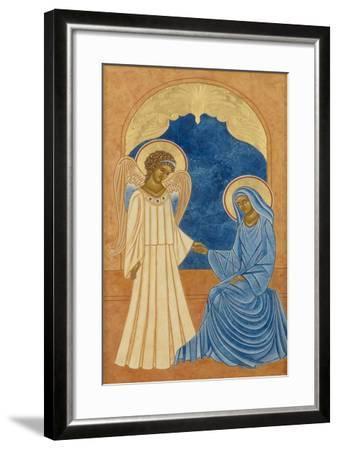 Annunciation--Framed Giclee Print