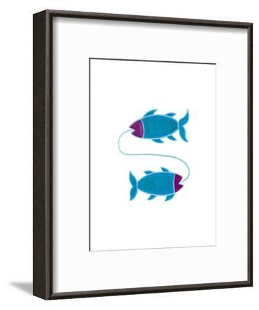 Pisces, 2009-Cristina Rodriguez-Framed Giclee Print