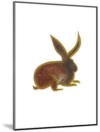 The Hare, 2009-Cristina Rodriguez-Mounted Giclee Print