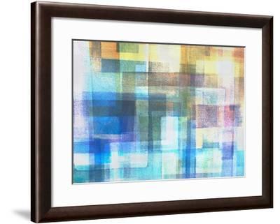 Blue Translucence-Hermione Carline-Framed Giclee Print