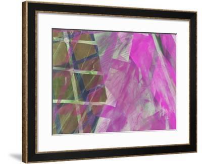 Modern Architecture Fuchsia-Hermione Carline-Framed Giclee Print