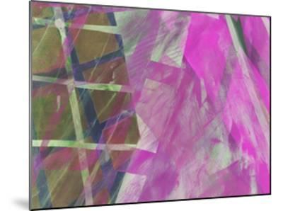 Modern Architecture Fuchsia-Hermione Carline-Mounted Giclee Print