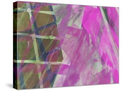 Modern Architecture Fuchsia-Hermione Carline-Stretched Canvas Print