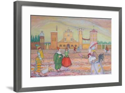 Stage of Fools 2-Silvia Pastore-Framed Giclee Print