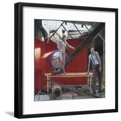 Making Sky, 2008--Framed Giclee Print