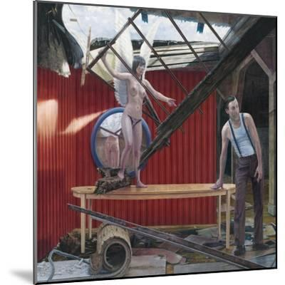 Making Sky, 2008--Mounted Giclee Print