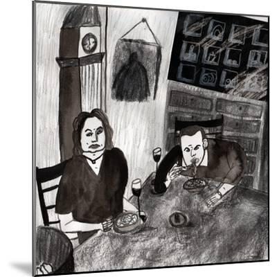 eating--Mounted Giclee Print