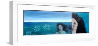 Maori Woman ,2015-Susan Adams-Framed Giclee Print