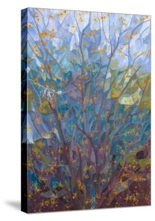 Witch Hazel in Flower, 2015-Leigh Glover-Stretched Canvas Print